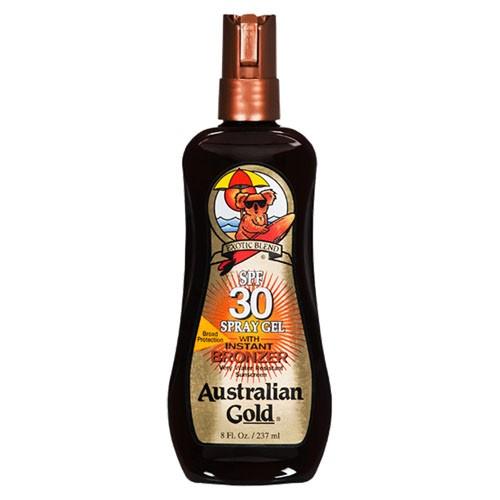 Protetor Solar FPS 30 Instant Bronzer Spray Gel 237 ml