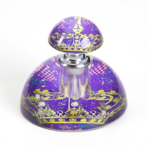Porta Perfume Princesa Roxo