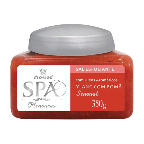Sal Esfoliante Ylang com Romã