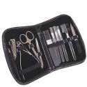 Kit de Manicure com 11 Peças e Estojo